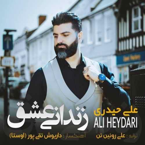 دانلود موزیک جدید علی حیدری زندانی عشق